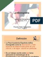 PDF La Monografía