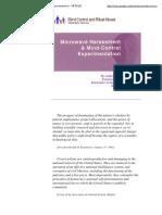 Microwave Harassment and Mind-Control Experimentation - MCRAIS