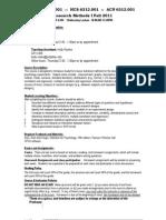 UT Dallas Syllabus for psyc6312.001.11f taught by Nancy Juhn (njuhn)