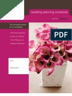 Wedding Planning Workbook