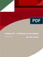 Manual ValidatorNT NT955 TU9862-1 RevD ES