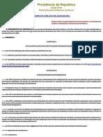 Decreto n 3860 de 9 de Julho de 2001