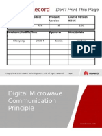 OTF000001 Digital Microwave Communication Principle ISSUE 1.01