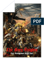 Grey Knights Epic List 0 3 2
