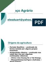 ESPAÇO AGRÁRIO