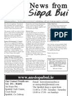 Latest Siopa Buí newsletter updated with changes