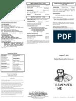 Bulletin - 20110807 Comm