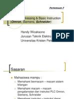 7 Plc Omron Addressing and Instruction