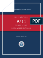 US Department Of Homeland Security (DHS) Report