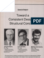 [Jörg Schlaich] Towards a Consistent Design of Structural Concrete