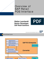Overview of the SAP Retail POS Interface