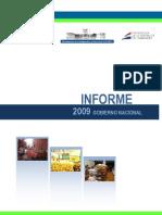 Informe Gobierno Nacional 2009 - PortalGuarani