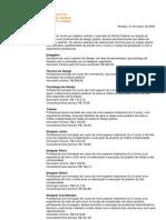 Tabela Cargos Salarios ADEGRAF2009