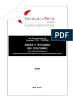 PIPEI Bases Integradas 3ra Convocatoria FIDECOM 25.05