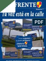 DE FRENTE nº 7