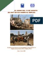 Informe Efectos Sismo en Empleo 3-01-07