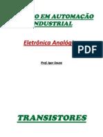 Automacao Industrial - Eletronica Analogica - Transistores_Amliplificadores