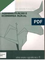 Administração e Economia Rural - Manual de Orientação