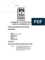 pušenje i seksualne funkcije