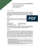 2009 Auditoría de Desempeño al Programa Seguro Popular