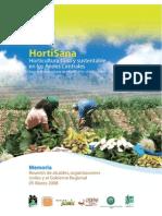 HortiSana 2008. Memoria