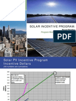 LA DWP Program Modifications and Re-Launch Board Briefing Presentation