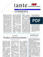 Militante nº 1- Mesa Nacional Falangista - Noviembre 2002