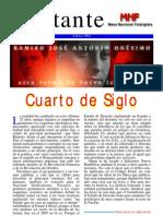 Militante nº 3- Mesa Nacional Falangista - Agosto 2003
