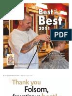 Best of the Best Folsom and El Dorado Hills - 2011