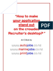 How to Make Your Job Application Stand Out