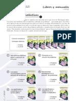 Catálogo de  libros y manuales de matemática