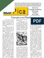 Pica - Número 1, Julio de 2003