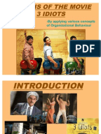 "reaction paper on 3 idiots Story line: what did i learn from 3 idiots, by samuel george  recently i  watched the hindi movie ""3 idiots"", which is being  reflection."