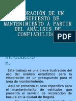 ELABORACIÓN DE UN PRESUPUESTO_FIABILIDAD