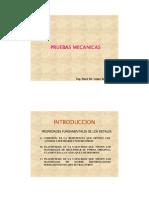 PRUEBAS MECANICAS