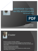 A identidade cultural na pós modernidade