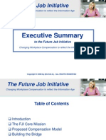 An Executive Summary to the Future Job Initiative