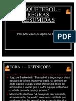 BASQUETEBOL – REGRAS RESUMIDAS