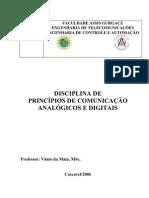 Princípios de comunicação analógica e digital