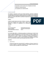 2009 Efectivo, Inversiones Temporales y Fondos de Reserva