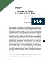 Alexandre Pereira--Heidegger e a decisão do fracasso de Ser e Tempo