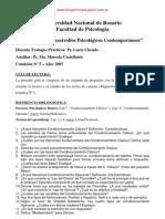 Guia de Estudio Condicionamiento Clasico y Operante