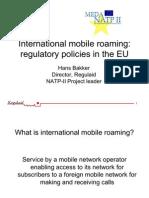 International Mobile Roaming in the EU