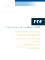 futsal peraturan