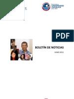 Boletín mensual de noticias - Junio 2011