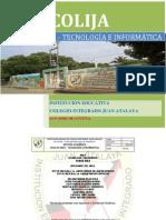 PLAN DE AREA TECNOLOGÍA E INFORMATICA -COLIJA - NUEVO FORMATO
