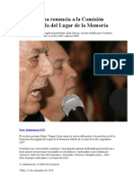 Vargas Llosa renuncia