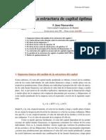 Estructura de Capital de Una Empresa