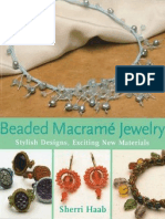 51 Beaded Macrame Jewelry