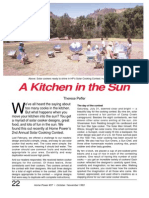 A Kitchen in the Sun